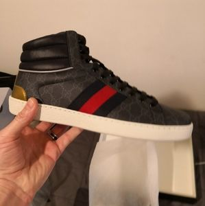 Gucci Ace High Supreme Sneakers